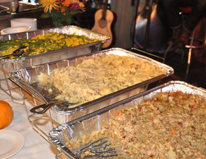 Some of Salt Gastropub's Thanksgiving feast.