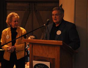 Susan Zellman and George Graham.