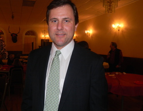 Senator Thomas Kean at the party