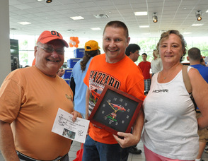 Bob, Brian and Pat Kapral of Newton and West Milford, NJ at the event.