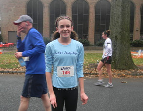 Nicole Cavender, who finished in the top 10 of the race