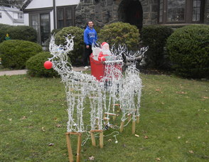 The reindeer Pagliuca created