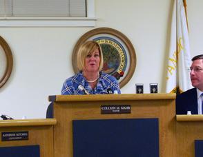 Mayor Colleen Mahr