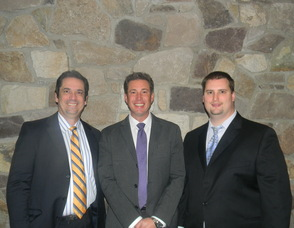 New Providence Chiropractic Doctors Todd Cunningham, Mark Schlobohm and Michael Sefcik
