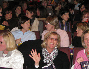 Matinee Club group in the theater
