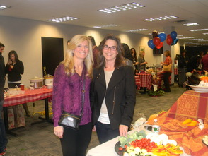 Meatball Madness Co-Chairs Jeanne Kingsley and Lisa Smith