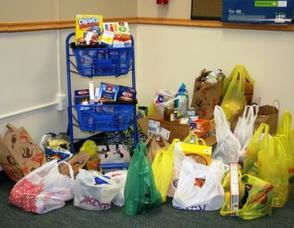 Donations will be given to the Westfield Food Pantry