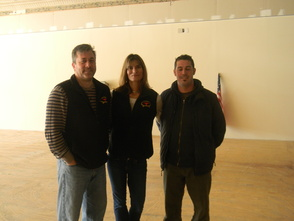 Meathouse of Summit owners David and Jen Bane and manager Tommy Muff
