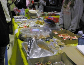Sweets Are Being Sold