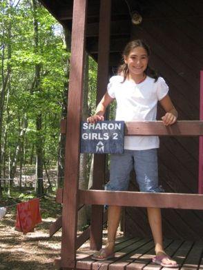 Marissa Steiner of Springfield enjoying her summer at Camp Harlam
