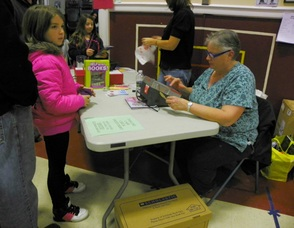 Diane Lungaro Helps Out at the Fair