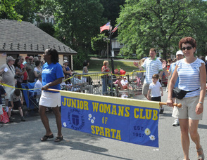 Junior Woman's Club of Sparta.