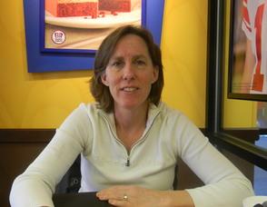 Mary Lonergan, the director of strategic partnerships of yougivegoods