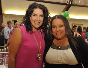 Mary Kay Independent Sales Directors Erika Insana, and Pamela Brigante.