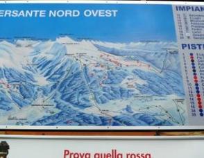 Map of Trentino-Alto Adige