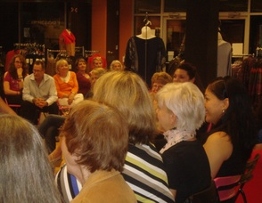 Guests Enjoying the Fall Fashion Show