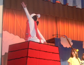 Snoopy in the show