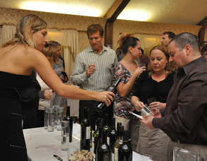 Guests enjoy tasting a variety of wines, beer, and spirits.