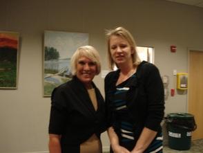 Barbara Wortmann and JoAnn Bartoli