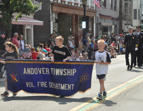 The Andover Township Fire Department.