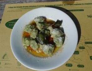 Strangolapreti, or spinach gnocchi, make for a perfect lunch!