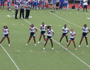 WOHS Varsity Cheerleaders Perform
