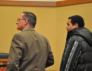 Daniel A. Colfax with his client Joseph Ayrey.