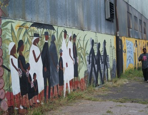 In 1st Ward, A Mural of Dreams and Sorrow, photo 1