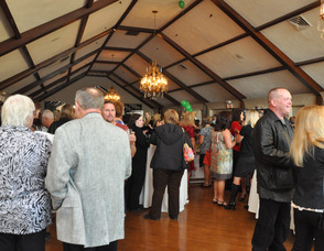 Guests in the Lake Mohawk Country Club Ballroom.