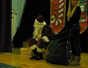 Santa Waits for Children
