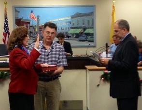 Councilwoman-Elect Annette Stendor Swears In