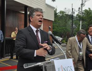 Livingston Mayor Stephen Santola.