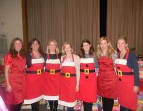 the Santa Claus Shop members