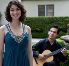 Elise Figa and Carlos Cuestas