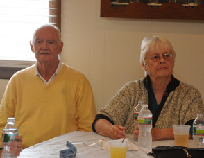Members of Dr. Richard Scott's family at the event.