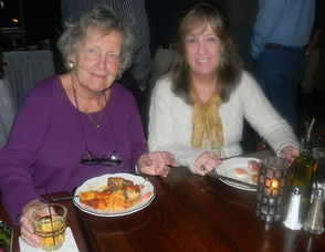 Judy Mullins, the owner of Poor Herbie's and a friend