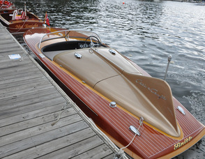The 55th (and last) model of one 1955 Chris Craft.