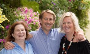Virtue Tile Owner Dave Mozes with sales/ design associates Jayne Miller and Katie Lengyel