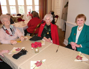 Guests at the luncheon