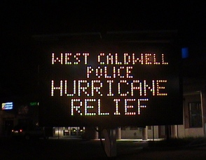 West Caldwell Police Hurricane Relief