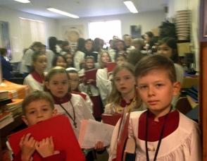 Grace Choirs line up!