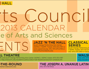 Seton Hall Arts Council Announces 2012-2013 Season, photo 1