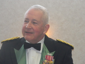 His father Colonel John Friedlander
