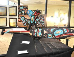 CT Beck's Alaskan artwork.