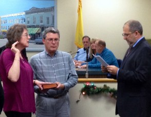 Councilwoman-Elect Linda Masson Swears In