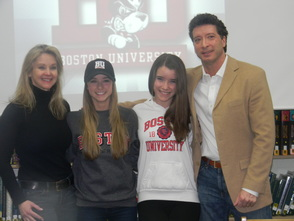 Alex Schlobohm with her family