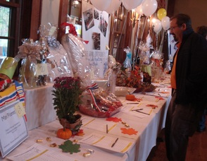 Admiring A Few Silent Auction Items