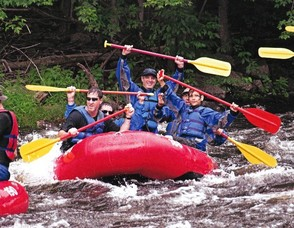 TBA Men's Club Whitewater Rafting Trip