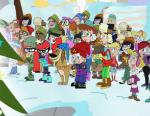 Johnny Test: A Holly, Johnny Christmas