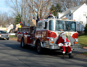 Fanwood Santa Parade
